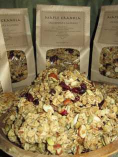 Moosewood Farm's Maple Granola